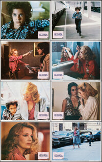 """Gloria (Columbia, 1980). Very Fine+. Lobby Card Set of 8 (11"""" X 14""""). Thriller. ... (Total: 8 Items)"""