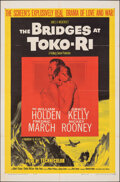"""Movie Posters:War, The Bridges at Toko-Ri & Other Lot (Paramount, R-1959). Folded, Very Fine. One Sheets (2) (27"""" X 41""""). War.. ... (Total: 2 Items)"""