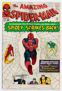 The Amazing Spider-Man #19 (Marvel, 1964) Condition: GD