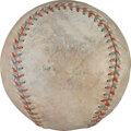 Baseball Collectibles:Balls, 1931 Lou Gehrig Single Signed Home Run Baseball - 37th of the Season & 224th of His Career!...