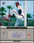 Autographs:Photos, Nolan Ryan Signed Upper Deck Signature Portraits ...
