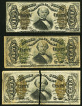 Fr. 1339 50¢ Third Issue Spinner Type II Very Fine; Fr. 1341 50¢ Third Issue Spinner Type II Fine; Fr. 1342 50...