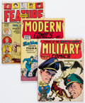 Golden Age (1938-1955):Miscellaneous, Golden Age Comics Group of 5 (Various Publishers, 1940s-50s) Condition: Average VG+.... (Total: 5 Comic Books)