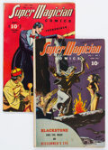 Golden Age (1938-1955):Miscellaneous, Super Magician Comics V3#2 and V5#3 Group (Street & Smith, 1944) Condition: Average VG+.... (Total: 2 Comic Books)