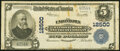 National Bank Notes:Pennsylvania, Uniontown, PA - $5 1902 Plain Back Fr. 609 The Uniontown National Bank & Trust Company Ch. # 12500 Very Fine.. ...