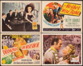 "Movie Posters:Musical, Diamond Horseshoe & Other Lot (20th Century Fox, 1945). Overall: Very Fine. Title Lobby Cards (2) & Lobby Cards (2) (11"" X 1... (Total: 4 Items)"