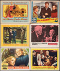 """Movie Posters:Drama, Knight without Armor & Other Lot (United Artists, 1937). Overall: Fine/Very Fine. Lobby Cards (5) & Title Lobby Card (11"""" X ... (Total: 6 Items)"""