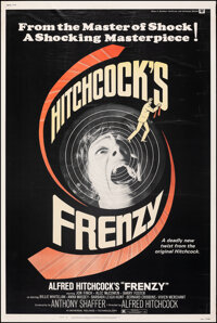 """Frenzy (Universal, 1972). Rolled, Fine/Very Fine. Poster (40"""" X 60""""). Hitchcock"""