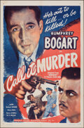 """Movie Posters:Crime, Midnight (Guaranteed Pictures, R-1947). Folded, Very Fine-. One Sheet (27"""" X 41""""). Reissue Title: Call It Murder. Crime...."""
