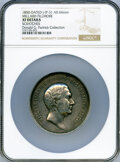 1850 Millard Fillmore Peace Medal, Small Size, Julian IP-31, Silver--Scratched--NGC Details. XF