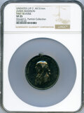 Undated (1814) James Madison Peace Medal, Small Size, First Reverse, Julian IP-7, Silver, VF25 NGC