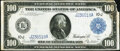 Fr. 1123 $100 1914 Federal Reserve Note Very Fine