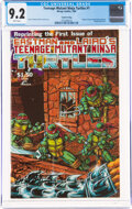 Modern Age (1980-Present):Alternative/Underground, Teenage Mutant Ninja Turtles #1 Fourth Printing (Mirage Studios, 1985) CGC NM- 9.2 White pages....