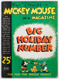 Golden Age (1938-1955):Cartoon Character, Mickey Mouse Magazine V2#3 (K. K. Publications/Western Publishing Co., 1936) Condition: FR....
