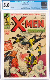 X-Men #1 (Marvel, 1963) CGC VG/FN 5.0 Cream to off-white pages