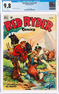 Red Ryder Comics #92 (Dell, 1951) CGC NM/MT 9.8 White pages