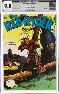 Red Ryder Comics #91 Mile High Pedigree (Dell, 1951) CGC NM/MT 9.8 White pages