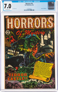 Horrors #13 (Star Publications, 1953) CGC FN/VF 7.0 Off-white pages
