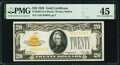 Small Size:Gold Certificates, Fr. 2402 $20 1928 Gold Certificate. PMG Choice Extremely Fine 45.. ...