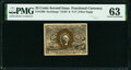Fractional Currency:Second Issue, Fr. 1290 25¢ Second Issue Fiber Paper PMG Choice Uncirculated 63.. ...