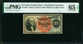 Fractional Currency:Fourth Issue, Fr. 1307 25¢ Fourth Issue PMG Gem Uncirculated 65 EPQ.. ...