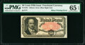 Fractional Currency:Fifth Issue, Fr. 1381 50¢ Fifth Issue Plate Letter Variety PMG Gem Uncirculated 65 EPQ.. ...