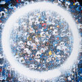 Prints & Multiples, Takashi Murakami (b. 1962). Enso: Momento Mori Red on Blue, 2015. Offset lithograph in colors on satin wove paper. 26-3/...
