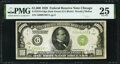Small Size:Federal Reserve Notes, Fr. 2210-G $1,000 1928 Dark Green Seal Federal Reserve Note. PMG Very Fine 25.. ...