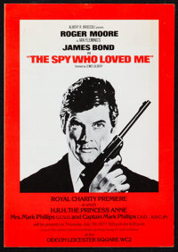 """The Spy Who Loved Me & Other Lot (United Artists, 1977). Very Fine. British Program (4 Pages, 8.25"""" X 11.75&quo..."""