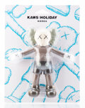 Collectible, KAWS (b. 1974). Holiday: Korea Bath Toy, 2018. Painted cast vinyl. 8-1/2 x 8 x 2 inches (21.6 x 20.3 x 5.1 cm). Stamped ...