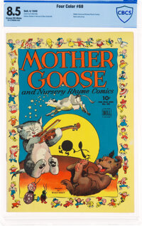 Four Color #68 Mother Goose (Dell, 1945) CBCS VF+ 8.5 Cream to off-white pages