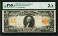 Large Size:Gold Certificates, Fr. 1183 $20 1906 Gold Certificate PMG Choice Very Fine 35.. ...