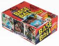 Baseball Cards:Unopened Packs/Display Boxes, 1984 Fleer Baseball Wax Box With 36 Unopened Packs - Mattingly & Strawberry Rookie Year! ...