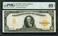 Large Size:Gold Certificates, Fr. 1172 $10 1907 Gold Certificate PMG Extremely Fine 40 EPQ.. ...