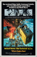 "Movie Posters:War, Where Eagles Dare (MGM, 1968). Folded, Very Fine. International One Sheet (27"" X 41"") Style A, Frank McCarthy Artwork. War...."