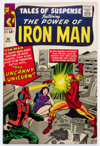 Tales of Suspense #56 (Marvel, 1964) Condition: FN+