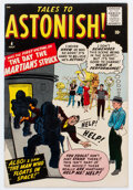Silver Age (1956-1969):Science Fiction, Tales to Astonish #4 (Marvel, 1959) Condition: Apparent FN/VF....