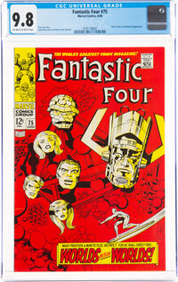 Fantastic Four #75 (Marvel, 1968) CGC NM/MT 9.8 Off-white to white pages