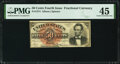 Fr. 1374 50¢ Fourth Issue Lincoln PMG Choice Extremely Fine 45