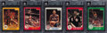 Basketball Cards:Sets, 1983-84 Star Basketball High Grade Complete Set (275). ...