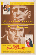 "Movie Posters:Drama, Sweet Smell of Success (United Artists, 1957). Folded, Fine/Very Fine. Autographed One Sheet (27"" X 41""). Drama.. ..."