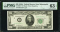 Fr. 2060-I* $20 1950A Federal Reserve Note. PMG Choice Uncirculated 63 EPQ