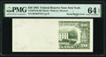 Error Notes:Miscellaneous Errors, Board Break Error Fr. 2079-B $20 1993 Federal Reserve Note. PMG Choice Uncirculated 64 EPQ.. ...
