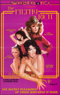 """Movie Posters:Adult, The Filthy Rich: A 24 kt. Dirty Movie (Caballero Control, 1980). Folded, Very Fine+. One Sheet (23"""" X 36""""). Adult.. ..."""