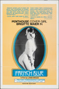"""Movie Posters:Foreign, French Blue (Alpha France, 1975). Folded, Very Fine-. One Sheet (27"""" X 41""""). Foreign.. ..."""