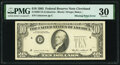 Error Notes:Inking Errors, Missing Green Portion of Third Printing Error Fr. 2027-D $10 1985 Federal Reserve Note. PMG Very Fine 30.. ...