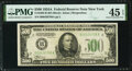 Fr. 2202-B $500 1934A Federal Reserve Note. PMG Choice Extremely Fine 45 EPQ