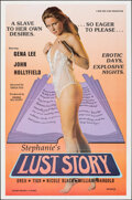 """Movie Posters:Adult, Stephanie's Lust Story (New Eros Films, 1982). Folded, Very Fine+. One Sheet (25"""" X 38""""). Adult.. ..."""