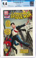 Modern Age (1980-Present):Superhero, The Amazing Spider-Man #573 Colbert Variant Cover (Marvel, 2008) CGC NM 9.4 White pages....