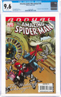 Modern Age (1980-Present):Superhero, The Amazing Spider-Man Annual #36 (Marvel, 2009) CGC NM+ 9.6 White pages....
